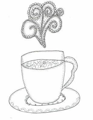 filiżanka rysunek