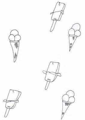 lody rysunek